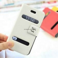 Leather Magnetic Flip For Apple iPhone 4 4S 4G Case Cover Pouch Wallet