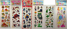 6 Sheets of Stickers, Ideal for Party Bags, Plants v Zombies, Ben 10 & Many more