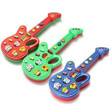 1~3 Educational Electronic Guitar Toy Nursery Rhyme Music Children Baby Kid Gift