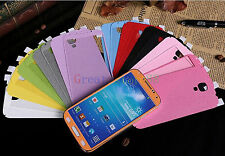 Pure Color Full Body Decal Skin Sticker Wrap Case For Samsung Galaxy SV S5 i9600
