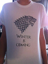 Game Of Thrones Winter Is Coming TShirt Kids & Adults