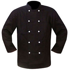 Chef Jacket / Jackets Chef Unifrom Clothing BLACK Full Sleeves HOSPITALITY GRADE
