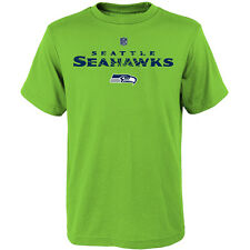 Nfl Team Apparel Youth Seattle Seahawks Shatter Mark  Team Color T-Shirt