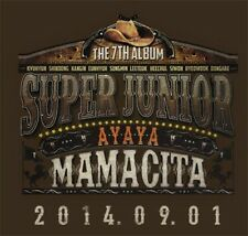Super Junior 7th Album [MAMACITA] AYAYA (Vol.7) CD +Photobook+Poster SEALED KPOP