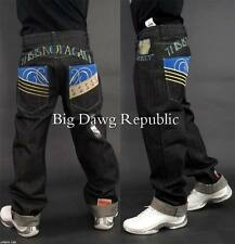 "Time Is Money ""Blue Star Game"" Men Jeans Raw Hip Hop G Style Urban Wear"