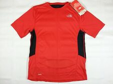 THE NORTH FACE Dirt Merchant Jersey Tee Polyester T-Shirt  Mens M, L Red