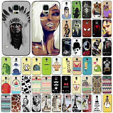 Hot Various For Samsung Galaxy S4 S5 i9600 Case Cover Classical Scenery Pattern