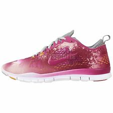 Nike Wmn Free 5.0 TR Fit 4 PRT Print Star Dust Womens Run Cross Training Shoes