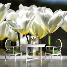 PHOTO WALLPAPER MURALS DECORATIONS HOME ART FULL HD TULIPS FLOWERS FLORAL 1101VE