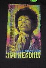 Jimi Hendrix Blacklight Tee Experience Tour Karl Ferris Collection T-Shirt
