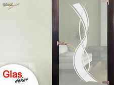 Glass Decoration Glass Door Sticker Window Film For Living Room Stripes