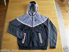 New with Tag Nike Men's HYP tech Windrunner hooded full zip JACKET 585109-100