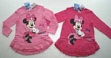 neu Mini Maus Minnie Mouse Micky Maus Tunika Longshirt Kleid Gr 98 104 116 128