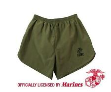 US Marine Corps Gym SHORTS Training USMC Running PT Work Out OD GREEN S-2XL