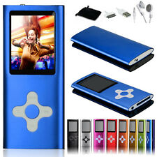 "Hot 4GB 8GB 16GB MP3 MP4 Music Player 1.8"" LCD With FM Radio Video Games Movies"