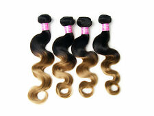 "MALAYSIAN Top Quality Body Wave Virgin Hair Weft Fashion Ombre Human 10""-30"" Hot"