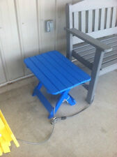 Poly lumber (HDPE recycled plastic) folding Side Table