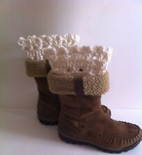 Crochet Lace Top Boot Cuffs, Boot Toppers