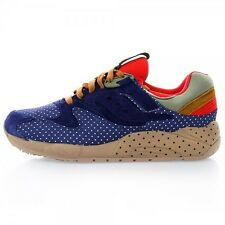 Saucony x Bodega Grid 9000 S70153-1 Blue/Tan Polka Dot Pack *NEW* KITH UBIQ RARE
