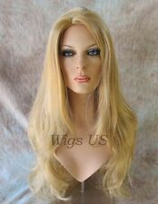 Extra Long Wig Full Skin Top 29 inches Blonde Red Brown Colors Womens Wigs