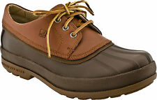 NEW SPERRY TOP SIDER COLD BAY 3 EYE TAN/BROWN RUBBER/LEATHER OXFORDS