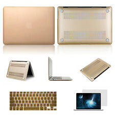 "GOLDEN Hard Rubberized Cover Case Shell for Macbook Air/Pro/Retina 11""13""15"""