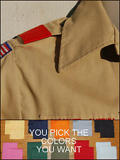 BSA Boy Cub Scout Uniform Shoulder Loop Epaulet New: ANY COLOR - ANY QUANTITY!!!