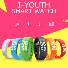 New Mutli-Function Unisex 3D LED Wrist Watch Pedometer Calorie Counter Signature