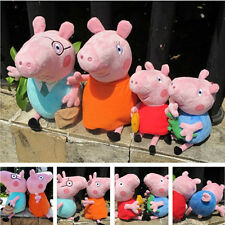 New Peppa Pig Family  Peppa George Mummy Daddy  Plush Doll Soft Stuffed Toy