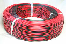 Lots 2-Pin 22AWG Extension Cable leads Wire For 3528 5050 Red Black LED Strip