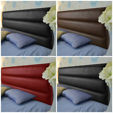 AERO FAUX LEATHER HEADBOARD BEST ON EBAY. 2ft6,3ft,4ft,4ft6,5ft,6ft FROM £16.99