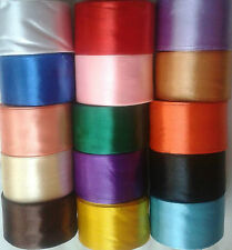 Satin Ribbon, Choose from Different Colors & Sizes -10 Metres of rolls