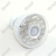 3W Infrared PIR Sensor 23 LED + US Plug Lamp Light Bulb White 110V / 220V