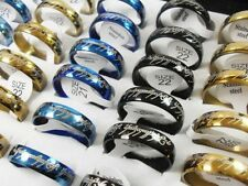 """New The Lord of the Rings """"The One  Ring""""  Gold, Black, Blue, lotr wedding"""