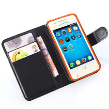 PU Leather wallet Magnetic flip Stand Case cover For Alcatel Mobile cell phones