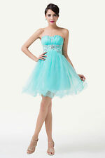 New In Pretty Short Ball Evening Gown Prom Birthday Party Queen Homecoming Dress