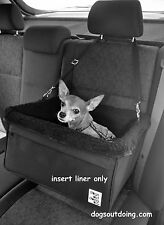 Large Faux Fleece Lining to fit Dogs Out Doing Dog Car Booster Seat *