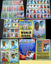 Match Attax WM 2010 Südafrika South Africa WORLD STARS CUP Trading Card Game