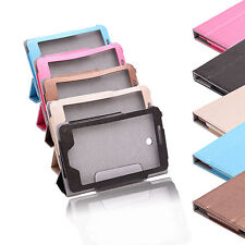 """7"""" Multi-Color 3 Fold Leather Stand Case Cover For ASUS FonePad 7 ME175 Tablet"""