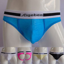 Super Sexy Men's Backless Lace Underwear Y-Front Briefs Jockstrap Shorts Thongs