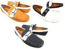 Men's Driving Shoes Casual Moccasin Penny Loafers Slip On Comfort