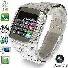 TW810 Ultra Thin Popular Touch Screen MP3 MP4 JAVA Bluetooth Watch Mobile Phone