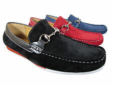 Men New Leather Lining Driving Casual Shoes Moccasins Slip On Loafers