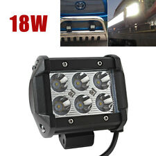 1400 Lumen 18W 6 LED Bulbs Work Light Lamp for Car Motorcycle Tractor Boat Truck
