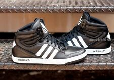 ADIDAS COURT ATTITUDE MENS BASKETBALL SHOES BLACK WHITE Q32944