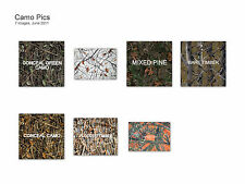 WATERPROOF HUNTING CAMO FABRIC CAMOUFLAGE TRUE TIMBER OUTDOOR  in 7 PATTERNS