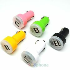 DUAL 2 PORT 2.1A CAR CHARGER CHARGING FOR IPHONE 7 6 6S PLUS SE 5S 5C 5 4S 4 3GS