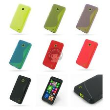 Gel Soft S Line TPU Silicone Case Skin Cover Back Pouch For Nokia Lumia 630 635