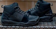 NIKE ACG ALDER MID MENS HIKING TRAIL ATHLETIC TRACTION BOOTS BLACK 599660 003