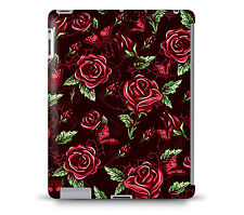 Red Rose With Thorns Tablet Hard Shell Case for iPad, Kindle, Samsung Galaxy, ..